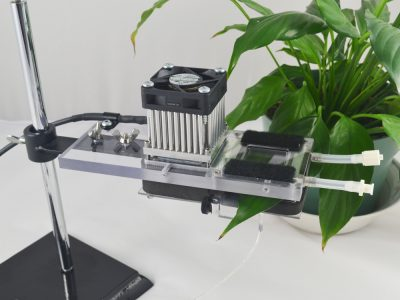 temperature controlled leaf chamber